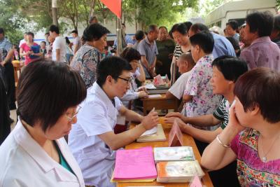 """新乐市开展 """"5.29会员活动日""""宣传服务活动"""