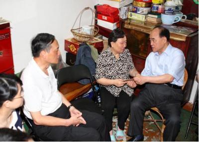 福建省威廉希尔登录协会端午节开展走访慰问威廉希尔登录特殊家庭活动