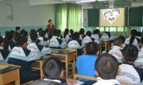 博乐市和平社区举办青春人格教育知识讲座