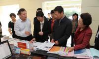 中国威廉希尔登录协常务副会长杨玉学率团考察济南市威廉希尔登录协工作