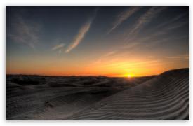 撒哈拉沙漠:日出霞光,最美瞬间