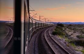 """""""非洲之傲""""南非的豪华列车"""