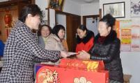 杭州市拱墅区计生协为计生特殊家庭送新春问候