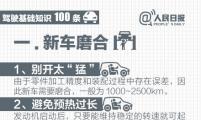 生活常识:驾车必看的100条知识