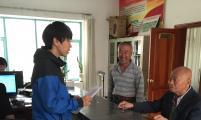 新兴街道民安社区工作人员积极为高龄老人办理敬老金