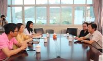 广东省计生协秘书长林洪一行调研顺德区 创建幸福家庭项目