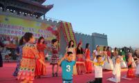 """吉木萨尔县举办弘扬传统民族服饰文化""""T秀"""""""