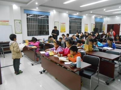 """社区威廉希尔登录协举办""""国学亲子阅读会"""""""
