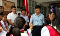 中国计生协常务副会长杨玉学在浙江温州调研