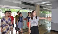 浙江省、杭州市领导调研西湖区流动人口宣传服务基地建设