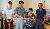 永寿县开展特殊困难家庭亲情送温暖活动