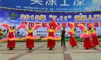 永州市牵手各县区计生协会开展宣传活动