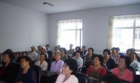 民强社区为孤寡老人开展健康教育知识讲座
