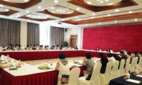 杭州市威廉希尔登录协召开全市区、县(市) 威廉希尔登录协会会长座谈会