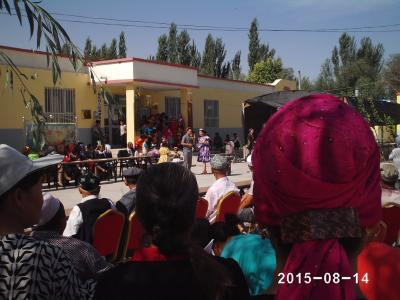 麻扎村威廉希尔登录协会忙活动  加强宣传聚民心