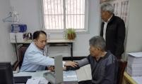 涡阳县青町镇计生协为特殊计生家庭户免费体检