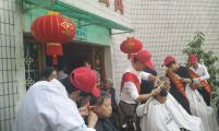 鹞山社区计生协会连续5年慰问老年公寓