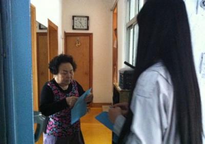 延吉市民泰社区威廉希尔登录协会开展计划生育政策法规宣传活动