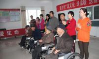 吉木萨尔县计生协开展送文化、送健康、送温暖活动