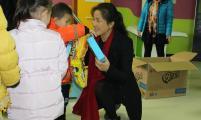 五河县卫计委、计生协积极开展关爱留守儿童活动
