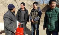 永寿县开展走访慰问威廉希尔登录困难家庭
