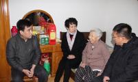 天津市威廉希尔登录协系统在元旦春节期间开展走访慰问活动