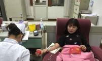 """珍珠园社区开展""""无偿献血 有爱更美丽""""活动"""