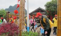 阳朔县组织青年志愿者开展计划生育政策宣传