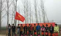 安徽省太和县双庙镇组织留守儿童志愿者开展植树活动