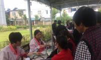 榔桥镇威廉希尔登录协开展送医送药送健康为主题的义诊活动