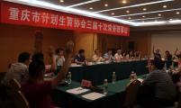 重庆市计生协三届十次常务理事会召开