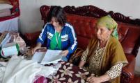 焉耆县四十里城子镇计生协展开计生特困家庭情况调研
