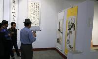 """玉田县举办""""健康玉田""""暨宣传全面两孩政策书画展览"""