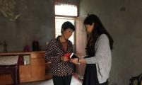 扬中市开发区开展走访慰问计生特扶家庭活动