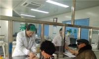 太和县肖口镇计生协会组织计生特扶家庭进行健康体检