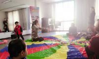鹞山社区:早期教育进社区, 亲子游戏乐开怀