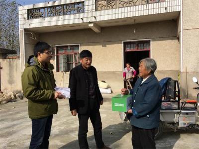 安徽省滁州市来安县张山乡开展威廉希尔登录特殊家庭关爱活动