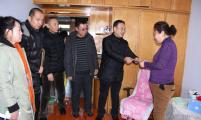 哈尔滨市阿城区计生协会走访慰问计生贫困特扶家庭