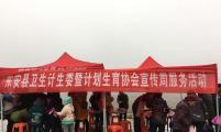 计生春联进山区—东安县卫计委、计生协开展春节宣传活动
