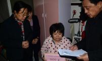 济南市巩宪群副市长走访慰问威廉希尔登录特困家庭