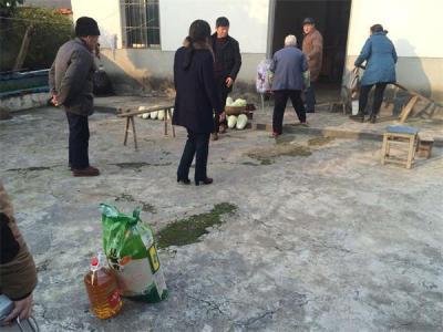 来安县张山乡威廉希尔登录协开展走访慰问活动