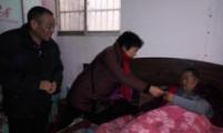 太和县城关镇复兴路社区积极开展春节走访慰问活动