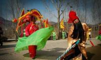 济南市历城区柳埠街道 葫芦套计生协组织春节民俗扮玩活动