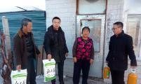 通河县威廉希尔登录协春节期间开展送温暖活动