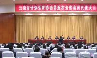 云南省计生协第五次会员代表大会隆重召开