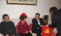 天津市威廉希尔登录协系统在元旦、春节期间开展走访慰问活动