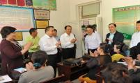 国家卫计委、中国威廉希尔登录协领导赴南疆地区调研