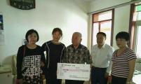 济南市协会领导走访慰问失独家庭