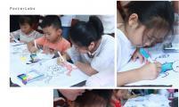 华阳街道举办文化衫手绘活动