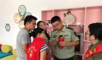 义安区五松镇计生协组织开展消防安全知识宣传活动